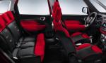 Speedy Noleggi Fiat 500 interni sedili